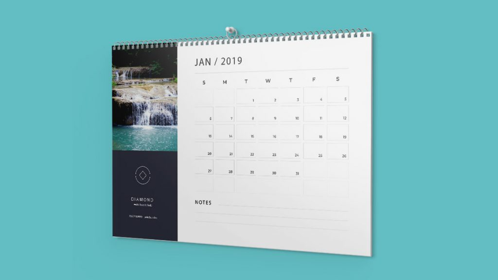 Calendars at Printhub.ink